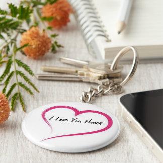 Keychain I Love You Honey