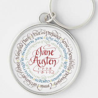 Keychain - Jane Austen Period Drama Adaptations
