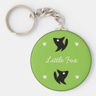 Keychain Little Fox (Green)