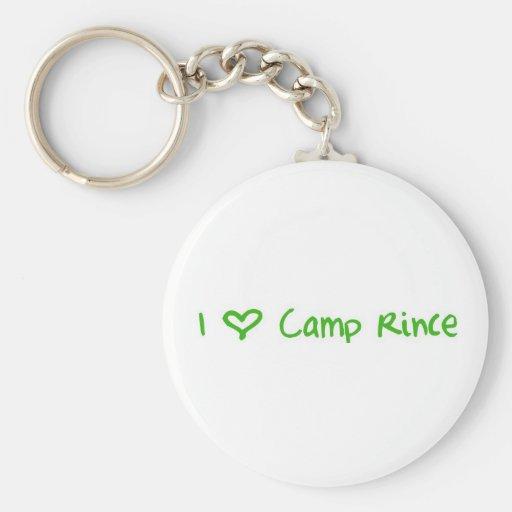 Keychain -Love CR - green