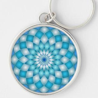 Keychain mandala abstract lotus flower