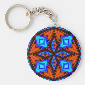 Keychain- Quilt Blocks 34 Key Ring