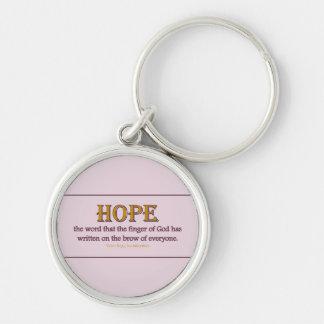 Keychain Round: Hope