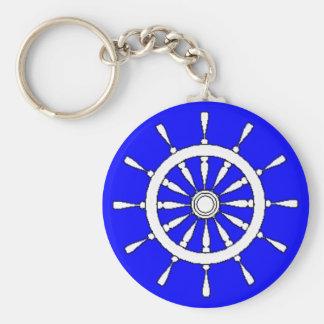 Keychain - Ships Wheel