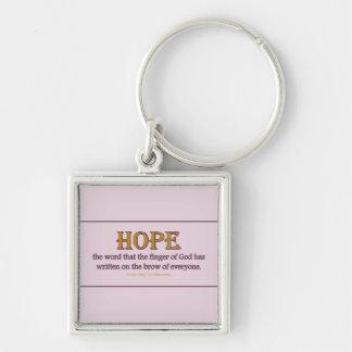 Keychain Square: Hope