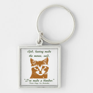 Keychain Square: The Cat