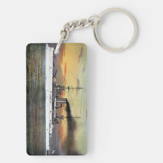 Keychain - US Battleships New Mexico and Illinois