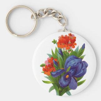 Keychain Vintage Floral