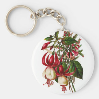 Keychain Vintage Floral Key Chains