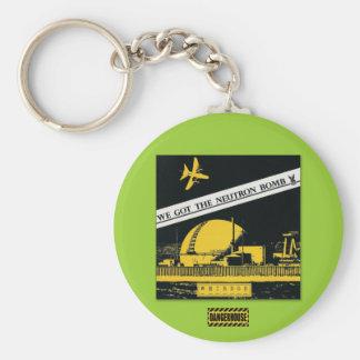 Keychain Weirdos Neutron Bomb  Dangerhouse
