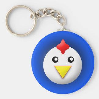 keychain with animal: chicken