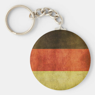 Keychain with Dirty Flag from Germany