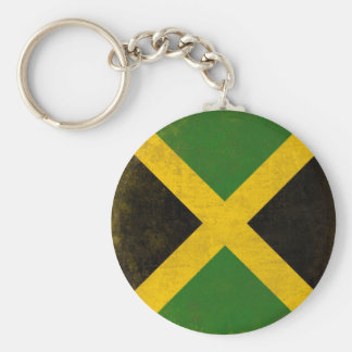 Keychain with Dirty Flag from Jamaica