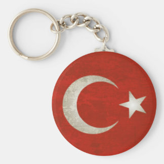 Keychain with Dirty Flag from Turkey