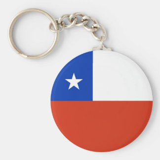 Keychain with Flag of Chile