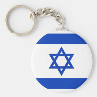 Keychain with Flag of Israel