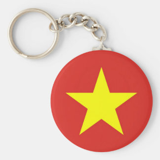 Keychain with Flag of Vietnam