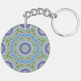 Keychain with Mosaic (double-sided)