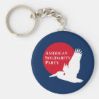 Keychain with Red & White ASP Logo