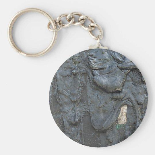 Keychain with Sticky Oil