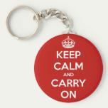 Buy a Keep Calm keychain