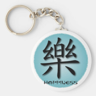 Keychains Chinese Happiness Symbol On Water