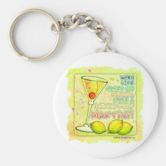 Keychains - Lemon Drop Martini