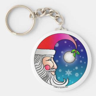 Keychains - Santa Moon