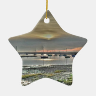 Keyhaven Marshes Christmas Ornament