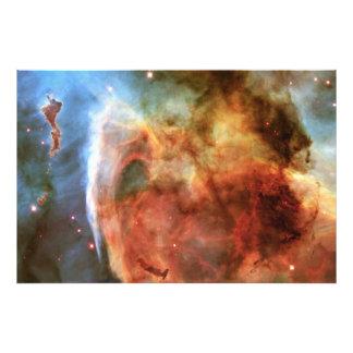 Keyhole Nebula Middle Finger of God Carina Nebula Photographic Print