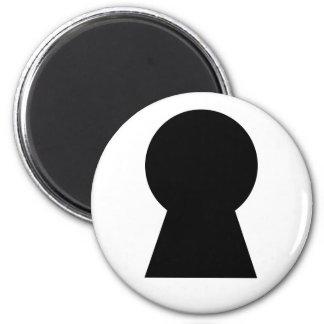 Keyhole - refrigerator magnet