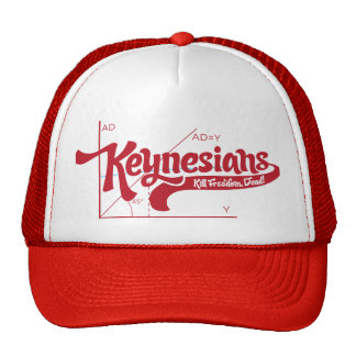 Keynesians 70 s Vintage Trucker Hat