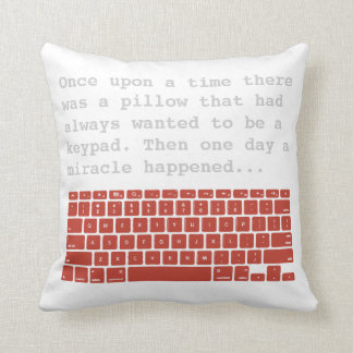 Keypad 2-sided pillow 1
