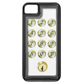 Keypad and lock case for the iPhone 5