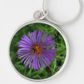 Keyring-Blue Cornflower Keychain