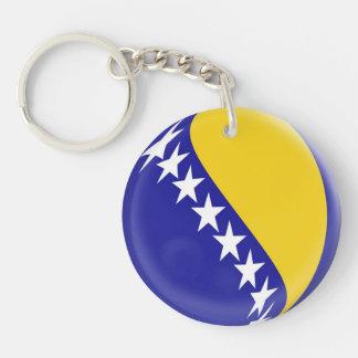 Keyring Bosnia & Herzegovinia flag