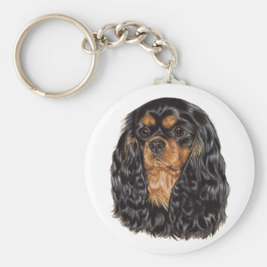 Keyring: Cavalier king charles Key Ring