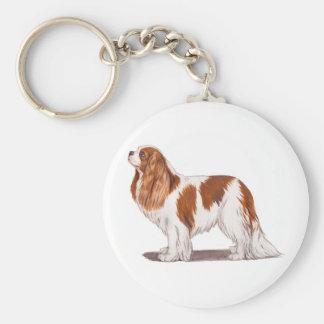 Keyring: Cavalier king charles spaniel Key Ring