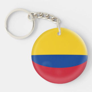 Keyring Colombia Colombian flag