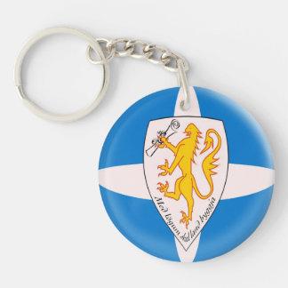 Keyring Forvik flag Single-Sided Round Acrylic Keychain