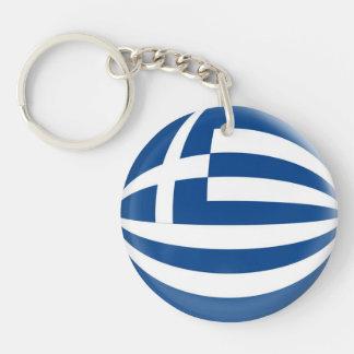 Keyring Greece flag