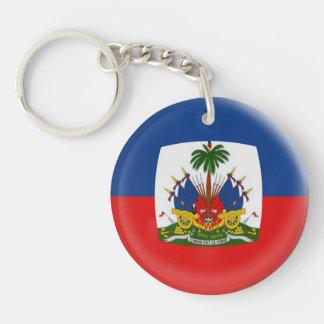 Keyring Haiti flag
