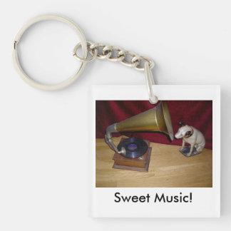 Keyring:  His Master's Voice Key Ring