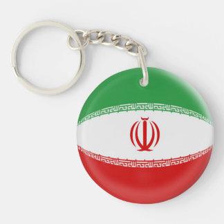 Keyring Iran flag