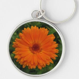 Keyring-Orange Flower Key Chain