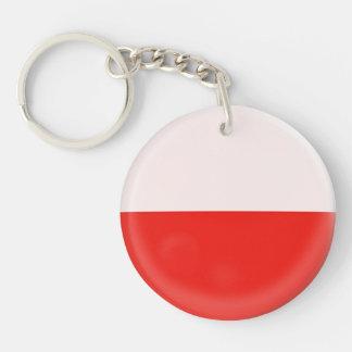 Keyring Poland Polish flag