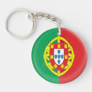 Keyring Portugal Portuguese flag