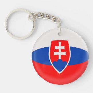 Keyring Slovakia Slovakian flag
