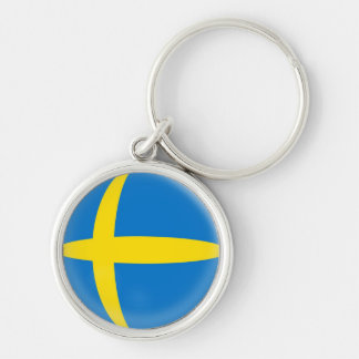 Keyring Sweden Swedish flag