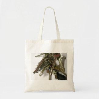 Keys Budget Tote Bag